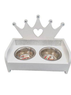 bufet biały korona